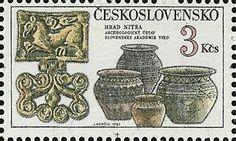 Bélyeg: Nitra castle - pottery (Csehszlovákia) (Kincsek Csehszlovákia váraiban és kastélyaiban) Mi:CS 2674,Sn:CS 2418,Yt:CS 2494,AFA:CS 2519,POF:CS 2548