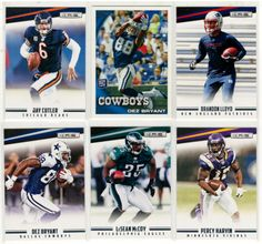 Football 30-Card Lot with Dez Bryant, Peyton Manning . . $2.40 plus shipping $2.60