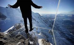 The French Alps' Latest Attraction: Step Into the Void - #luxurytravel #adventure #adrenaline