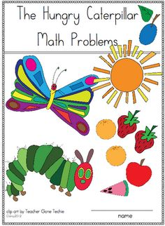The Very Hungry Caterpillar printables (free) I would work on ...