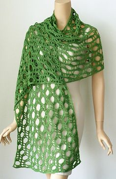 Anyone want to knit this for me? Trellis pattern by Doris Chan  Crochet learning??