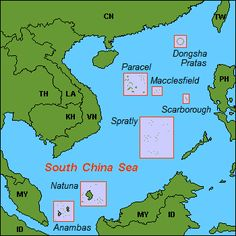 Karta CN SouthChinaSea - Scarborough Shoal - Wikipedia, the free encyclopedia Philippine News, Visayas, Losing Friends, New Chinese, Fishing Boats, Geography, Philippines, China