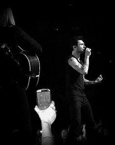 Adam Levine .. Maroon 5