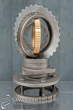 STC Scrap Sculptures 2013 - Gears Within Gears