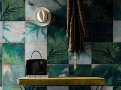 EXOTIC DAMIER Contemporary Wallpaper 2016 Collection by Wall
