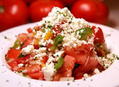 Mary Koss, Milwaukee, requested the recipe for a tomato salad served at Old Town Serbian Gourmet House, 522 W. Lincoln Ave. She wrote: