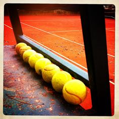 Clay court #tennis inspires artistry and creativity for players and spectators alike.