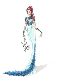 Dress sketches, fashion design sketches, costume design, how to draw hands, Illustration Mode, Fashion Illustration Sketches, Fashion Design Sketches, Disney Princess Fashion, Disney Style, Arte Fashion, Ideias Fashion, Moda Disney, Image Deco