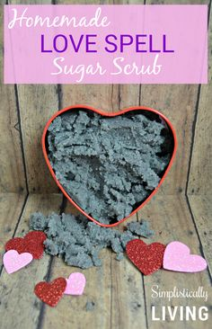 HOMEMADE LOVE SPELL SUGAR SCRUB- For all of you that enjoy Love Spell from Victoria's Secret you will want to check this out!