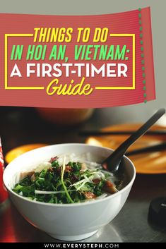 A first-timer guide where you'll find some tips on the top things to do in Hoi An, Vietnam, where to stay and my favourite Hoi An restaurants.