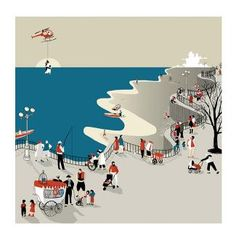-Bolognia Fair (NEW) : solundurraga Juan Palomino, Bologna, Antalya, Childrens Books, Illustrators, Print Patterns, Graphic Design, Drawings, Beach