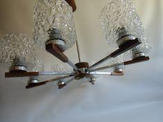 Kronleuchter - Danish Modern Lampe  60er-70er Jahre   - ein Designerstück von susduett bei DaWanda