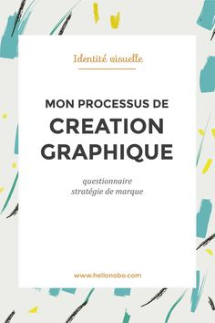My graphic process: the questionnaire and the brief Marketing Services, Inbound Marketing, Digital Marketing, Web Design, Graphic Design, Design Color, Organization Bullet Journal, Questionnaire, Photoshop Design