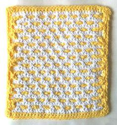 Buttered Waffles Crochet Dishcloth – Maggie Weldon Maggies Crochet