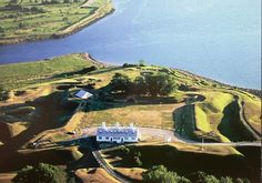 Annapolis Royal, Nova Scotia. - In 1710 the British defeated the French and changed the name of the town from Port Royal to Annapolis Royal in honour of Queen Anne.  Fort Anne National Historic Site (pictured) is one of today's main attractions.