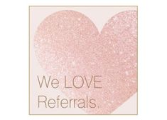 Cute Pink Glitter Heart Beauty Salon Referral Square Business Cards Direct Link: https://www.zazzle.com/z/y57go?rf=238835258815790439&tc=GBCReferral1Pin