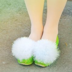 I want Tinkerbell slippers!