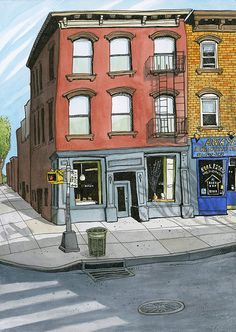 Urban Sketchers: Proteus Magazine