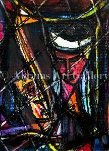 Albert Juliano  Amazing Art Must Buy!
