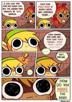 Funny Legend of Zelda Comic