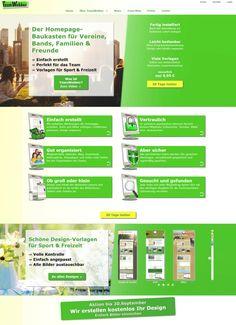 Schöner und übersichtlicher: die neue Website des #TeamWebber #Homepage-Baukastens: www.teamwebber.de