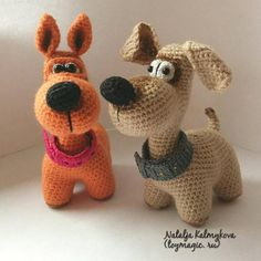 Dog BigNose ToyMagic. Dog Crochet Pattern PDF Instant