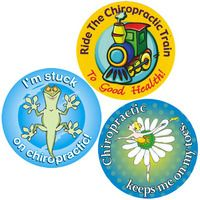 Cute chiropractic stickers from korenpublications.com