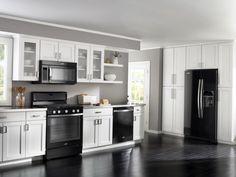 Black Kitchen Appliances Novaform Anti Fatigue Mat How To Decorate A With Decor White Gorgeous Kitchens Design And Ideas