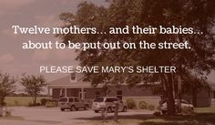 Voices for the Unborn: Please Save Mary's Shelter - Our New Home in Alabama  https://voicesunborn.blogspot.com/2016/08/please-save-marys-shelter-our-new-home.html#.V7hp1pgrLIU