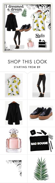 """Shein 33"" by zerina913 ❤ liked on Polyvore featuring Guerlain, Nika and shein"