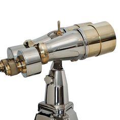 Big eye polished binoculars designed from World War II navy binocular designs Big Eyes, Stargazing, Telescope, Design Inspiration, Led, This Or That Questions, Antiques, Antiquities, Antique