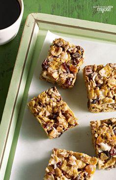 Barres tendres granola - Une collation saine et faite maison, c'est gagnant !