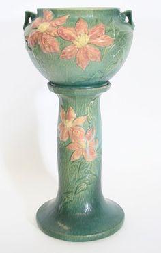 Clematis Jardiniere and Pedestal