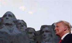 Theodore Roosevelt, Monte Rushmore, Thomas Jefferson, George Washington, Wisconsin, Michigan, Joe Biden, Mike Pence, Donald Trump