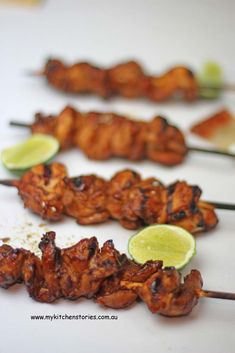 Fast barbecue Chicken Kebabs are easy to make and have a sticky smokey flavour. Perfect for anytime you want a quick easy meal. Fruit Recipes, Keto Recipes, Cooking Recipes, Oven Inspiration, Bbq Meals, Kebab, Kitchen Stories, Barbecue Chicken, Picnic Ideas