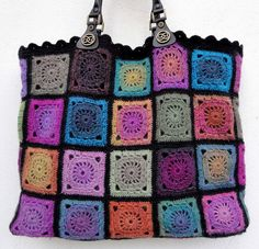 Delight Tote Bag by eclectic gipsyland, via Flickr, love the subtlety of the colors.