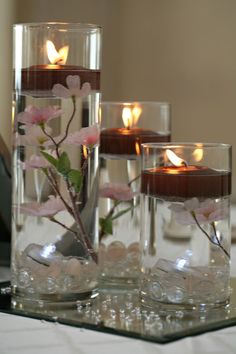 Cherry Blossom Wedding Centerpieces | Cherry Blossom Vase Centerpieces Sale 40% Off| Tradesy Weddings
