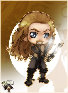 The Hobbit - Chibi Fili, at your service! by *CibiaH on deviantART