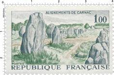 Timbre : ALIGNEMENTS DE CARNAC | 1965