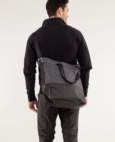 Lululemon Crosstown Bag, use as a manly diaper bag??