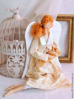 """Коллекционные куклы ручной работы. Ярмарка Мастеров - ручная работа Ангел """"Безмятежность"""". Handmade."""