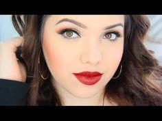 Selena Quintanilla Makeup Tutorial - YouTube