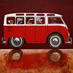 YES!!! Dog VW - Ed Van der Hoek