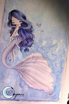 Mermaid Harmony by ~AngeniaC on deviantART