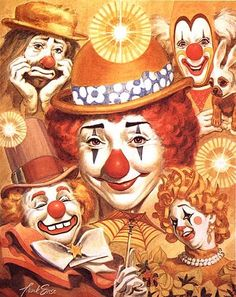 Clown Face Designs | creepy clown face clip art vector free for