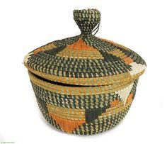 Large Lidded Wishing Basket Nkuringo