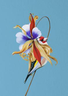 Rocío Montoya's 'Hybrid Flowers' Illustrations | Trendland Online Magazine Curating the Web since 2006