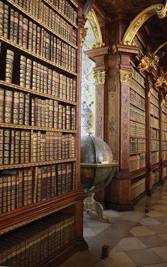 Biblioteca de Melk Abbey, Austria