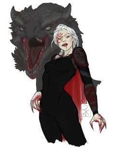 Manon Blackbeak and Abraxos by WitchlingsAndWyverns. Heir of Fire. Queen of Shadows. Empire of Storms. Sarah J Maas