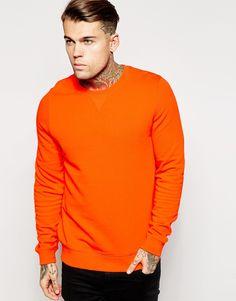 Sweatshirt With Crew Neck